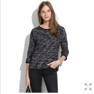 Madewell Marled Shadetree Pullover